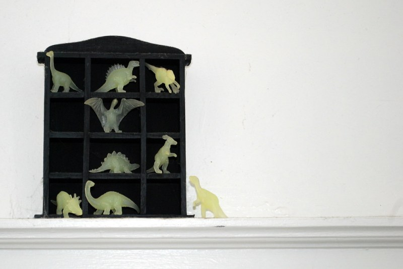 house of glow dinos