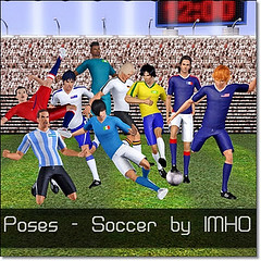 Soccer Poses by IMHO