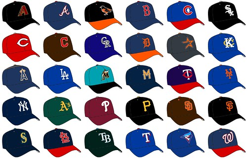 MLB Hats done Right (Road)