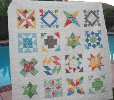 Summer Sampler Series--the quilt