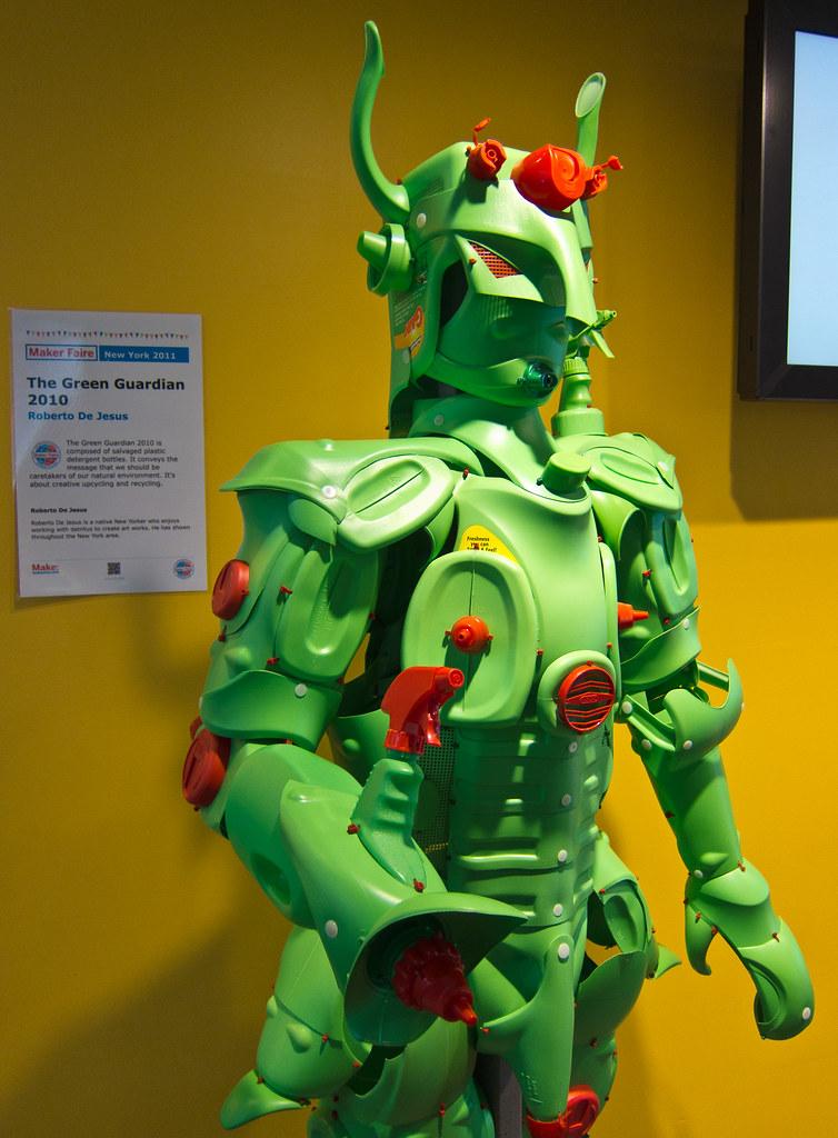 The Green Guardian by Roberto De Jesus