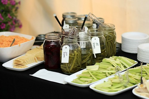 pickled beans and beets