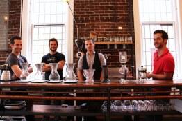 George, John, Chris and Matt | Revolver in Gastown