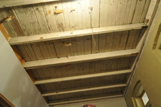 Porch roof/ceiling