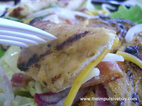 Burger King Chicken B.L.T. Garden Fresh Salad Chicken