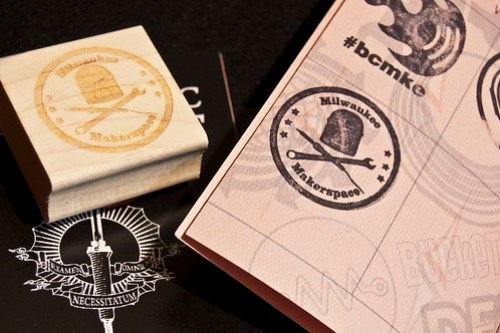 Milwaukee Makerspace Stamp