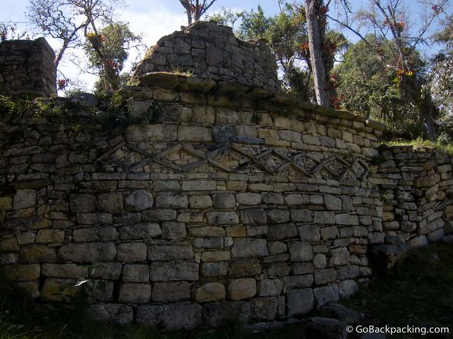 Intricate stonework
