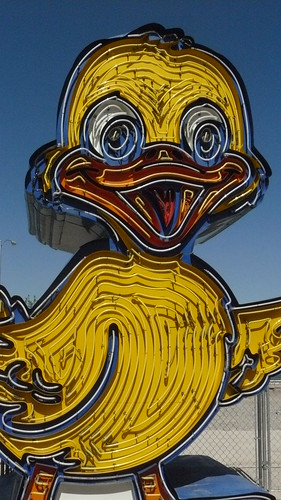 Ugly Duckling Car Sales sign, Neon Boneyard, Las Vegas