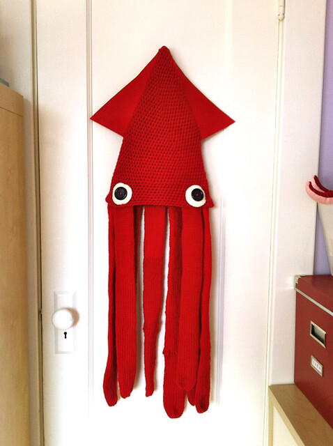 My Squid Costume (hat) for Halloween