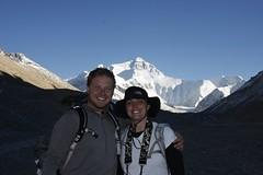 Joe and Holly at Everest