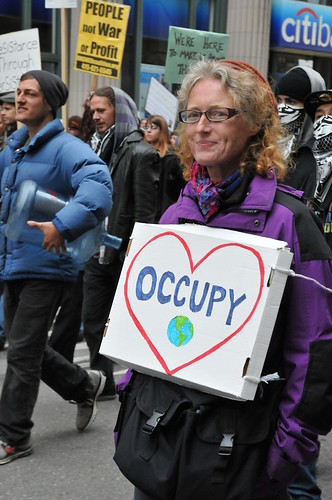 Smile, March &amp; Occupy