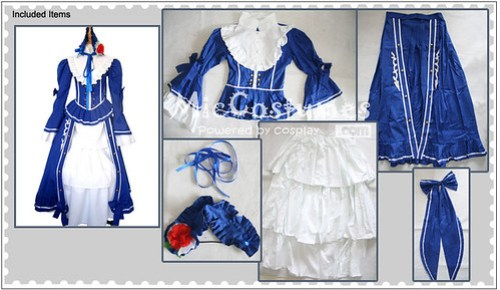 Le Chevalier DEon Lia de Beaumont Cosplay Costume