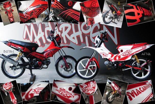 Xrm motorcycle sticker design disrespect1st com honda