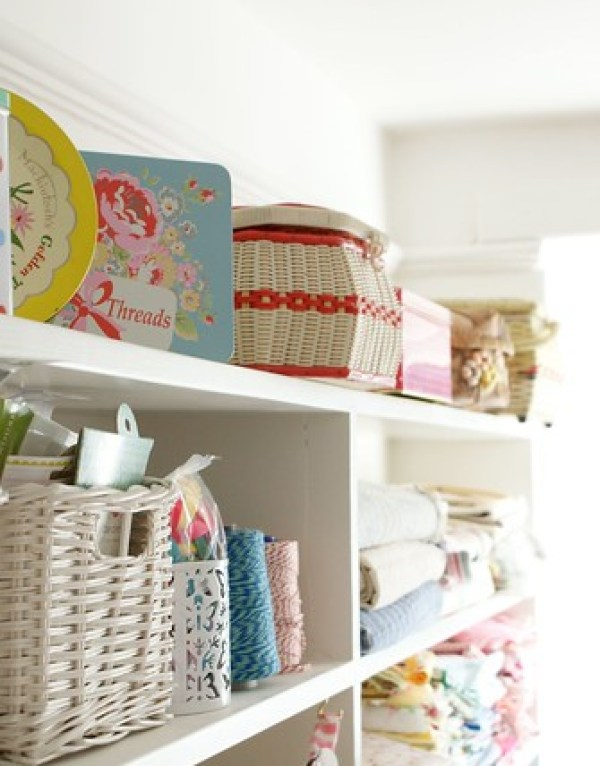 6507721245 cf7fa36654 Beautifully Inspiring Sewing Room | MesseJesse