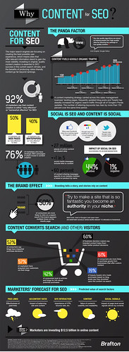 #Infographic: Why Content for SEO