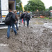 Going to work at Park Life Festival, Manchester, England 09-06-2012