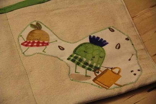 Garden apron for Duda