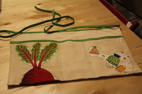 Garden apron for Duda