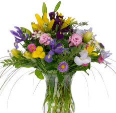 Spring Flowers — David Kesler, Floral Design Institute, Inc., in Portland, Ore.
