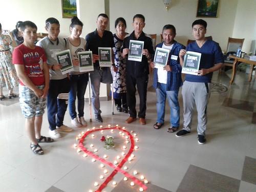 Uzbekistan - World Remembrance Day of AIDS (2)