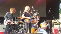 Adam Green and Binki Shapiro at SummerStage 6/15/13