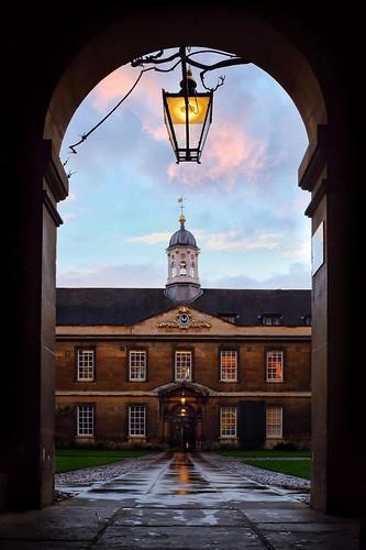 Trinity Hall courtyard