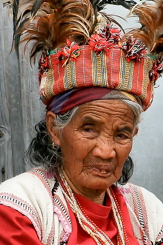The queen does not approve. Banaue Viewpoint