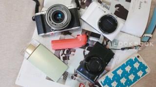 相機推薦|來看看GINA用什麼相機拍照吧。就說我是超級3C控/5Dmark3/Fujifilm XM1/HTC Re/SONY RX100/CASIO ZR1500/SONY KW11/CASIO TR15(TR350)