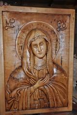 icoana lemn paltin