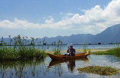 """Traditional fishing on Lake Batur • <a style=""""font-size:0.8em;"""" href=""""http://www.flickr.com/photos/29204155@N08/18299246212/"""" target=""""_blank"""">View on Flickr</a>"""
