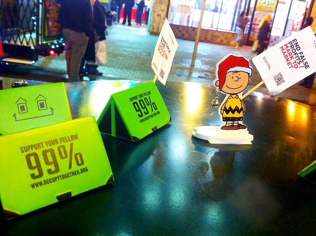 Occupy Everywhere Charlie Brown