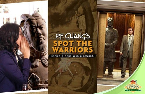 PF Chang's Spot the Warriors