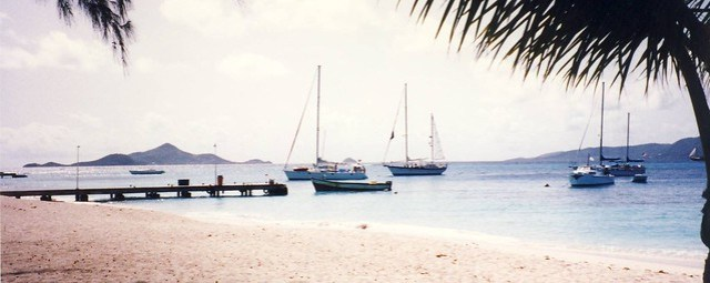 Grenadines Union Island harbour