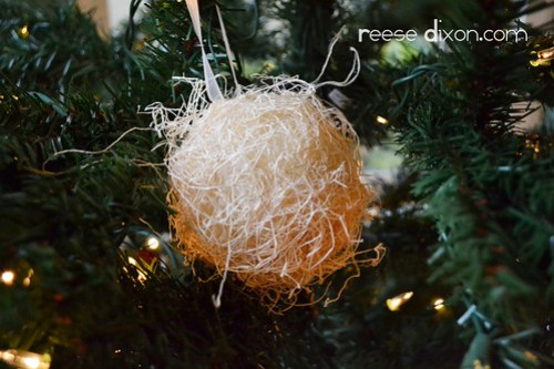 Hay Ornament