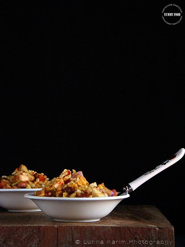 Bhel Puri - Desi Style Puffed Rice