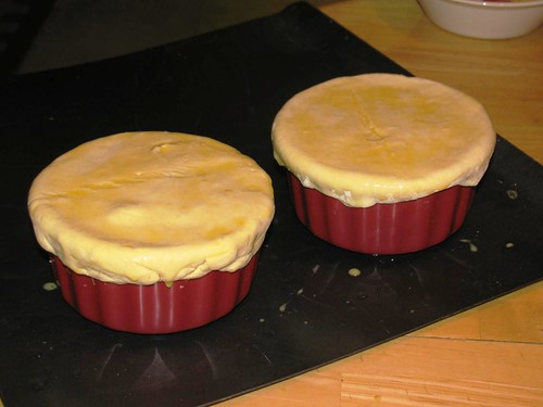Puff Pastry Chicken Pot Pies