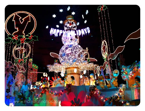 Snow Man at Disneyland