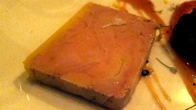 foie gras terrine at animal