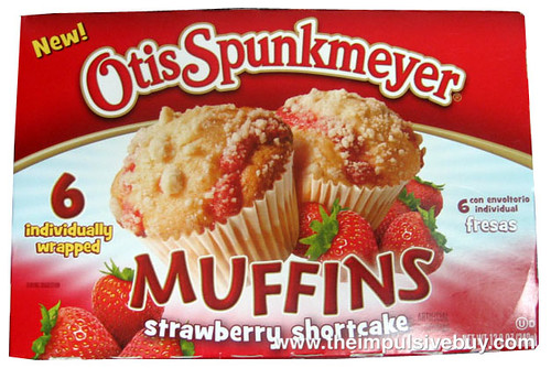 Otis Spunkmeyer Strawberry Shortcake Muffins