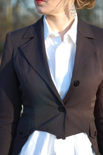 DIY Tuxedo Jacket