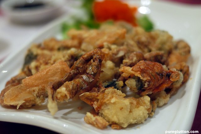 softshell crabs