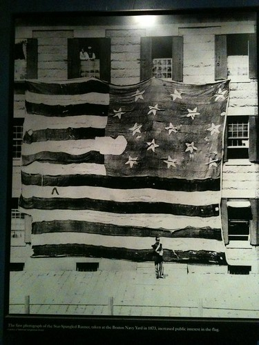 First (known) photograph of The Star Spangled Banner