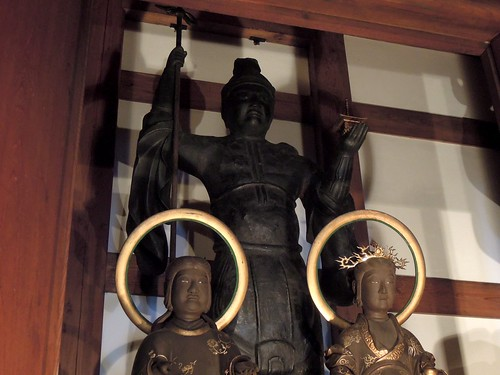 毘沙門天と脇侍