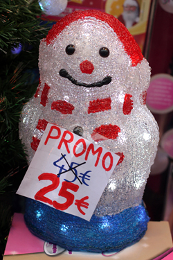 promo snowman