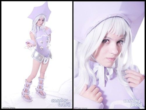 Shaman King Iron Maiden Jeanne Cosplay