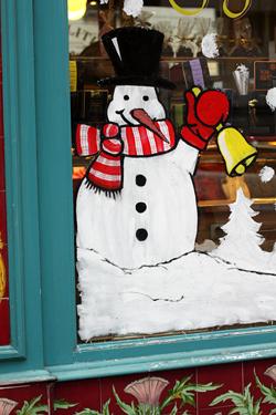 bakery snowman