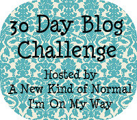 The30DayBlogChallenge