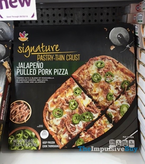 Giant Signature Pastry-Thin Crust Jalapeno Pulled Pork Pizza