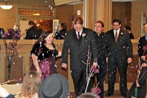 Dan and Lisa, married!