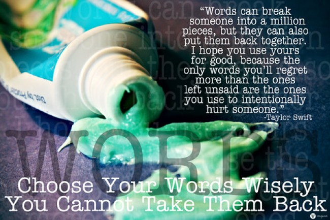 Poster: Words